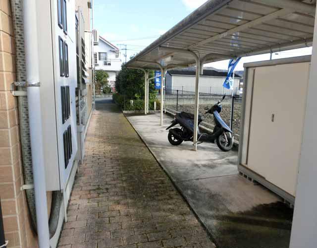 駐輪場 大型バイクも余裕ですイメージ