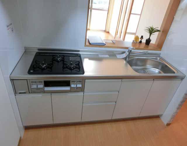 キッチン新品 ビルトイン イメージ