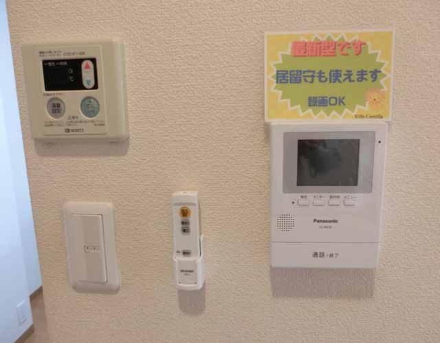 ガスコントロール TVドアホンカラー録画機能付きですイメージ